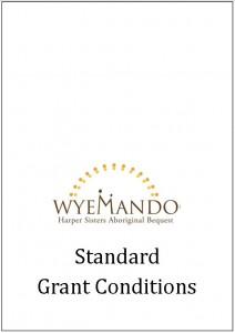 Standard Grant Conditions v3 Apr 2016